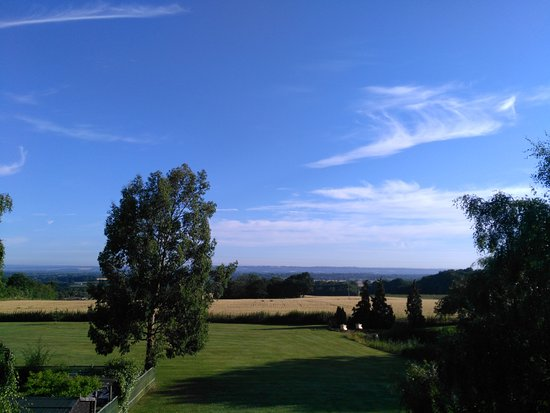 Dodges Oast: Kentish view from our B & B window