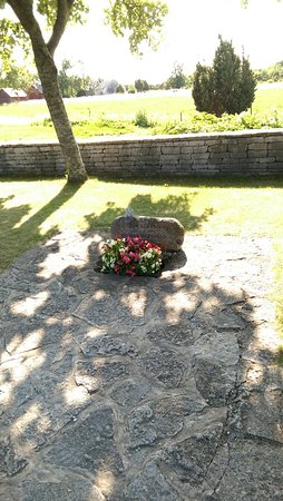 Faro, Sweden: Ingemar Bergsmans grav