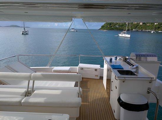 White Bay: Catamaran chill out & bbq