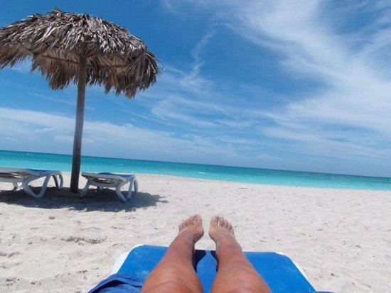 Relaxing On Varadero Beach No Filter Needed