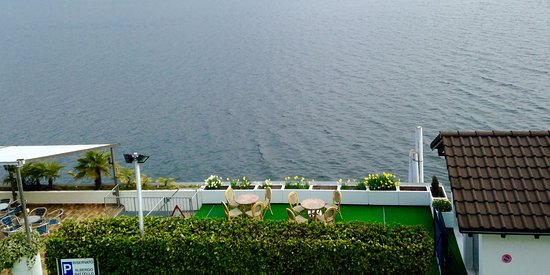 Hotel Garni Battello: Lago di lugano