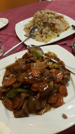 Joondalup, Australia: szechuan beef hot and spicy like me ..lol