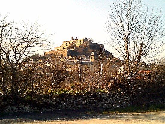Severac-le-Chateau, ฝรั่งเศส: Severac le Chateau, vu du restaurant