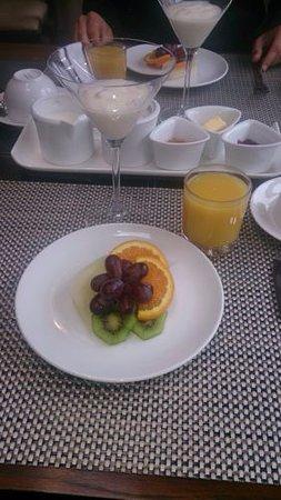 Abbeyglen Cottage B&B: Desayuno