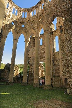 Hambye, Frankrike: Ruines