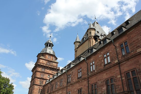 Aschaffenburg, Germany: Gives you an idea of the palace size