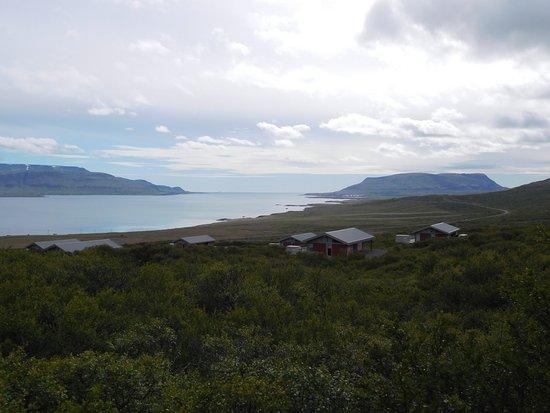 Akranes, ไอซ์แลนด์: uitzicht op het fjord