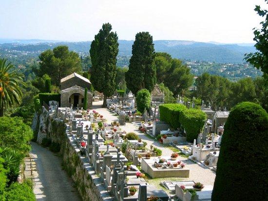 Saint-Paul de Vence: Cemetery, St. Paul de Vance, France