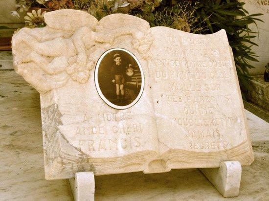 Saint-Paul de Vence: Detail, Cemetery, St. Paul de Vance, France