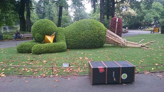 poussin ronflant - Photo de Jardin des Plantes, Nantes - TripAdvisor