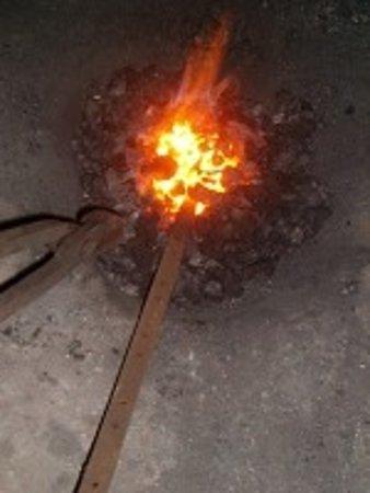 Slangerup, Δανία: Fire by coal