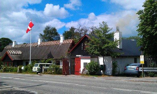 Slangerup, Δανία: The old cottage & forge