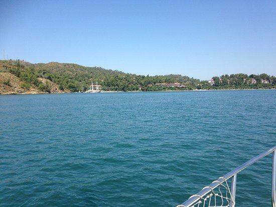 Oykun Hotel: Boat trip