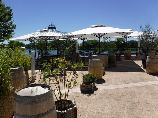Moissac, Francia: Dining Terrace