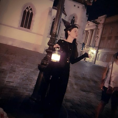 Upper Town Witches Zagreb Tour
