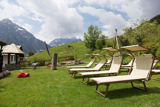 Hirschegg, Αυστρία: Liegewiese