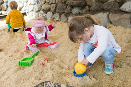 Hirschegg, Αυστρία: Sandkasten