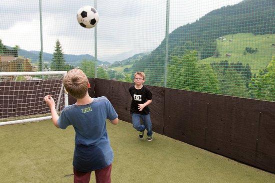 Hirschegg, Αυστρία: Bolzplatz