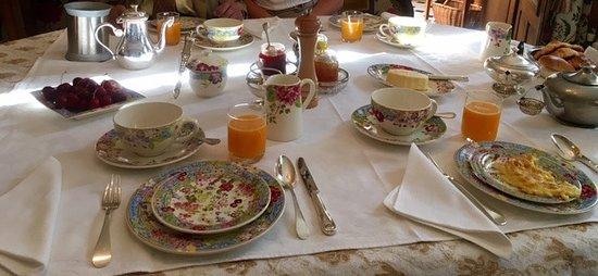 Manoir de Beauregard : Breakfast