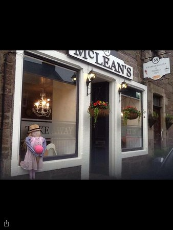 Muthill, UK: Mclean's Ice Cream Parlour & Pizzeria