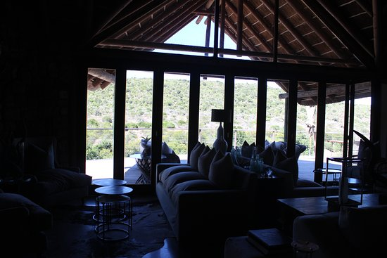 Kwandwe Private Game Reserve, Sør-Afrika: View from lounge