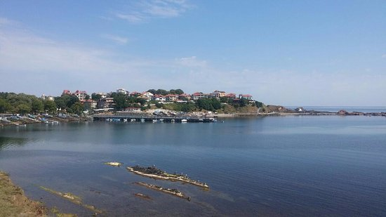Ahtopol, Bulgaria: The view from the terrace