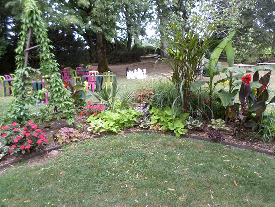 Limeuil, فرنسا: jardin