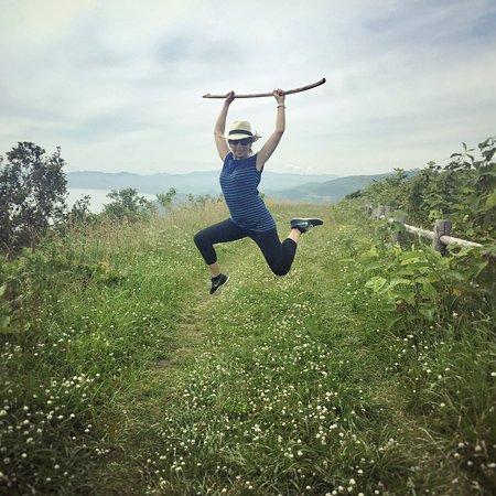 Sobetsu-cho, Japón: Near end of longer walking trail