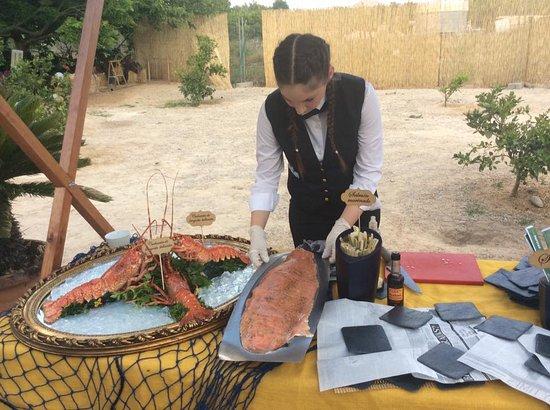 Manises, Ισπανία: Catering 4