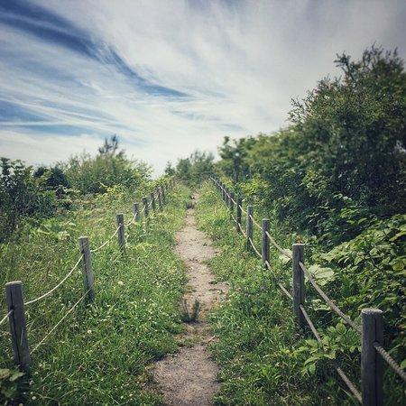 Sobetsu-cho, Japón: walking trail by crater
