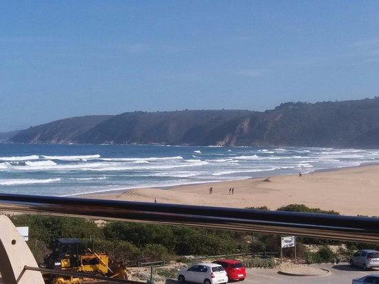 Wilderness, แอฟริกาใต้: View from Salinas Beach Restaurant