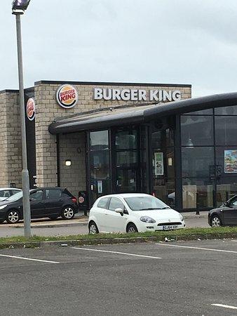 Port Talbot, UK: Burger King