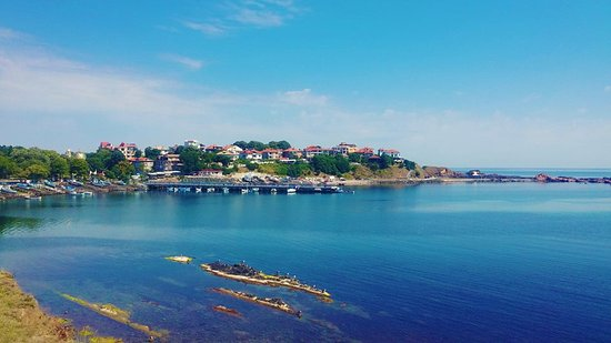 Ahtopol, Bulgaria: View from the hotel