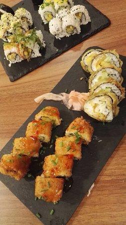 Maia, Πορτογαλία: 28 Vegetarian sushi pieces