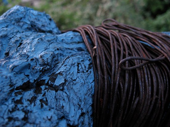 Eguilles, France: Bois bleu et fer