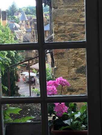 La Lanterne: View from the Breakfast table