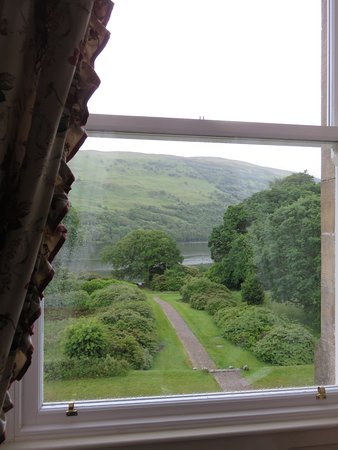 Invergarry, UK: View from room number 5