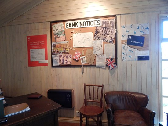 Banbury, UK: The ticket office