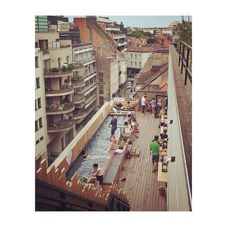 Saint-Gilles, Belgien: rooftop pool