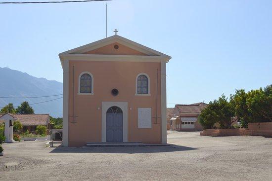 Peratata, Grecia: Церковь, где хранится ступня Андрея Первозванного