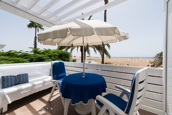 El Capricho Apartamentos: terraza vista mar, seaview terrace