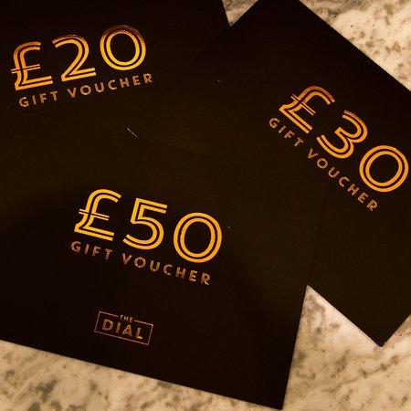 Burton upon Trent, UK: Gift vouchers