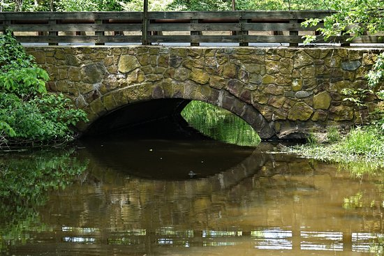 Somerset, NJ: Bridge by Rose Garden entrance