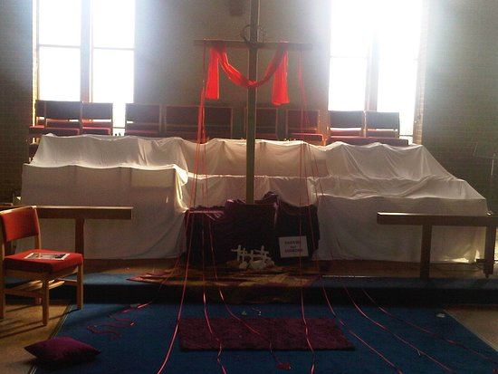 Strood, UK: Easter display special for local schoolchildren