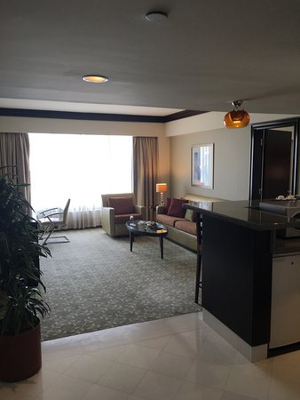 InterContinental Abu Dhabi: View from junior suite
