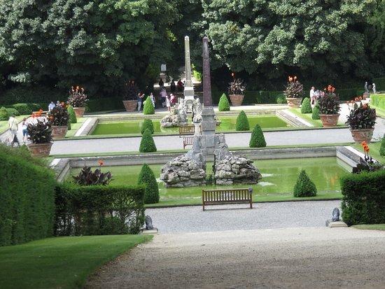 Woodstock, UK: A formal garden