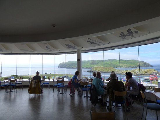 Douglas, UK: Coffee in the panoramic restaurant