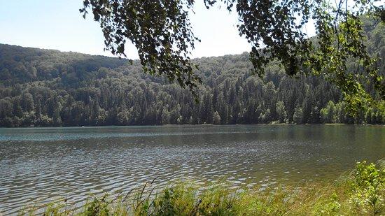 Baile Tusnad, Rumania: lake