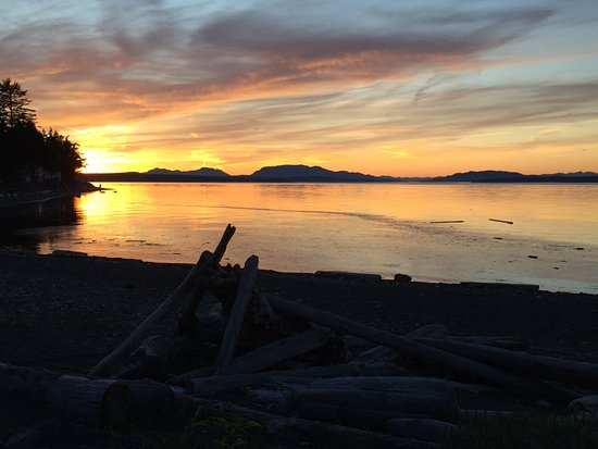 Campbell River, Canadá: Sunset