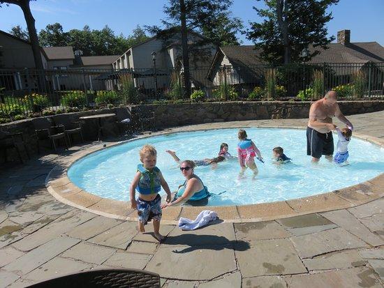 Pocono Manor, Πενσυλβάνια: kiddie pool